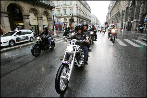 Sons of anarchy street marketing riders 3