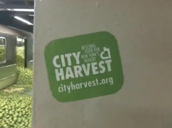 City harvest draftFCB The Mill pomme apple video virale metro NY new York alternatif marketing 2