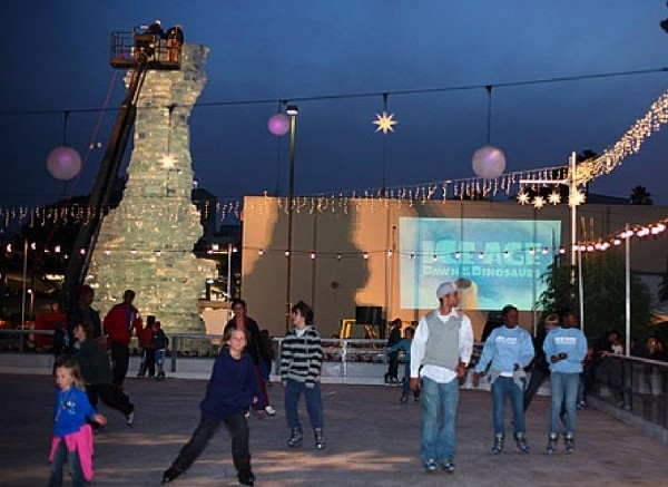santa monica ice age l'age de glace scrat statue sculpture glace DVD 3