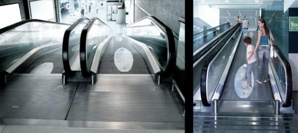 surf revista revue magazine ambient marketing alternatif alternative escalator tapis roulant ride 2