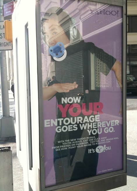 I want to be a baby marta ibarrondo NY sucette affichage outdoor guerilla marketing alternatif alternative noconventional 2
