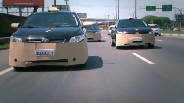 Rexona men brand experience game deodorant street alternatif marketing voiture carro car tuning carton beauf 1