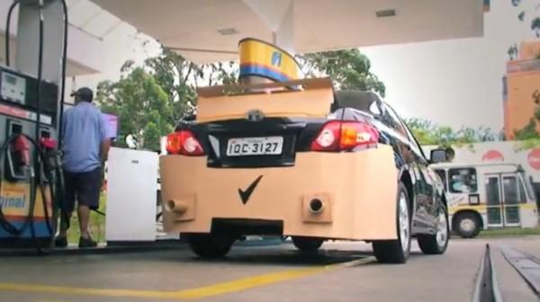 Rexona men brand experience game deodorant street alternatif marketing voiture carro car tuning carton beauf 3