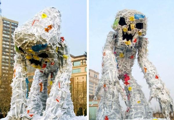 Monstre de plastique – Paperplane