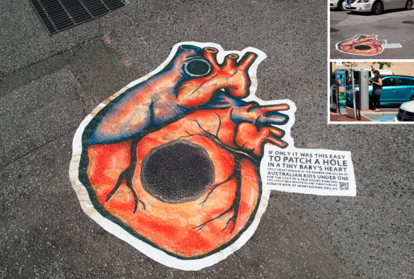 heartkids perth shed ambient marketing art urbain street 6
