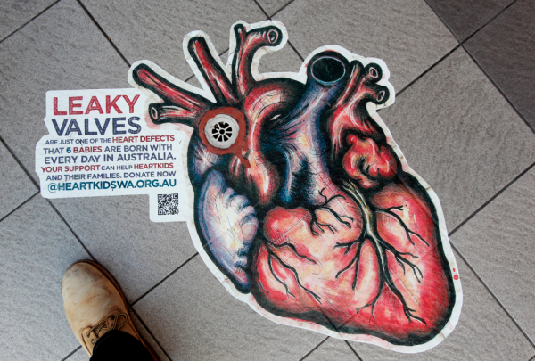 heartkids perth shed ambient marketing art urbain street 7