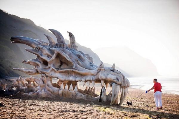 squelette skull ambient marketing dragon game of thrones season 3 england blindbox 5